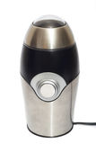 Electric coffee grinder. Royalty Free Stock Photography