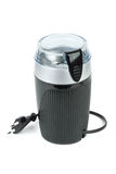 Electric coffee grinder Stock Images