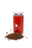 Electric Coffee Grinder Royalty Free Stock Photos