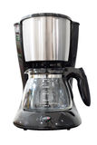 Electric coffee maker Royalty Free Stock Images