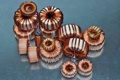 Electric coils Stock Image