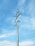 Electric column Stock Image