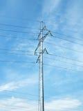 Electric column Stock Image