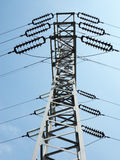 Electric column Royalty Free Stock Images