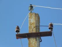 Electric column Stock Photo