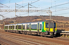 Electric commuter train Stock Photography