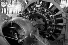 Electric compressor Royalty Free Stock Images
