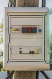 Electric control box Royalty Free Stock Image