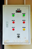 Electric control box Stock Image