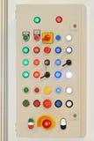Electric control panel Stock Photo