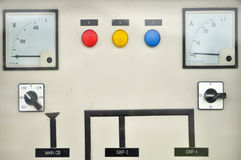 Electric control Royalty Free Stock Images
