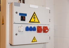 Electric control unit Royalty Free Stock Images