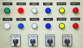 Electric controller cabinet Royalty Free Stock Images
