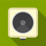 Electric cooker flat icon illustration Royalty Free Stock Image