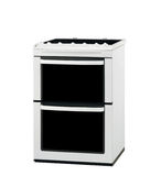 Electric cooker oven isolated. On white background Stock Photos