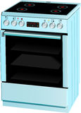 Electric cooker oven Stock Images