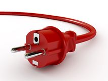 Electric cord Royalty Free Stock Photo