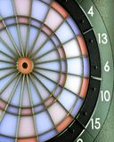 Electric dartboard Royalty Free Stock Photo
