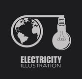 Electric design Stock Photo