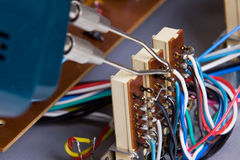 Electric device Royalty Free Stock Photography