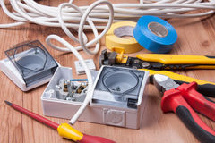 Electric device Royalty Free Stock Images