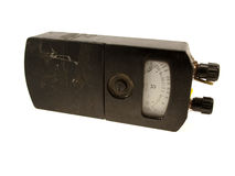 The electric device an ohmmeter Royalty Free Stock Photo