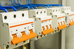 Electric devices Stock Photo