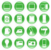 Electric devices Stock Photography