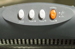 Electric devices pushbuttons Royalty Free Stock Images