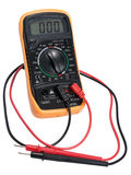 Electric digital tester. Royalty Free Stock Images