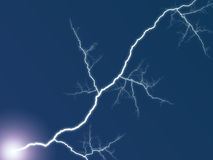 Electric discharge Stock Photography