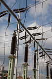 Electric distribution Royalty Free Stock Photos