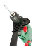 Electric dril with bit closeup Stock Photo