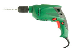 Electric drill Royalty Free Stock Photography