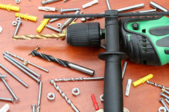 Free Electric Drill Royalty Free Stock Photography - 3952197