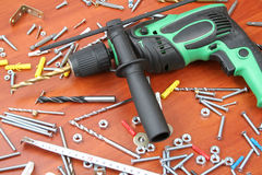 Electric Drill Royalty Free Stock Photos