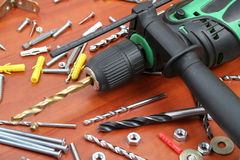 Electric Drill Royalty Free Stock Images