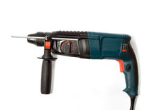 Electric drill-hammer Royalty Free Stock Photography