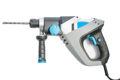 Power electric drill hammer Stock Image