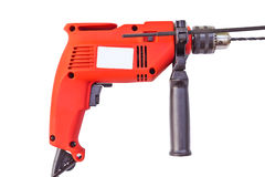 Electric drill. perforator. isolate Stock Photo