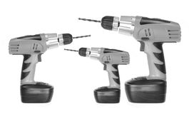 Electric Drills Stock Photography