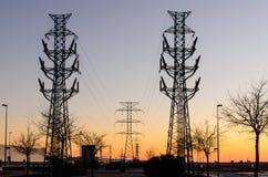 Electric dusk II Stock Images