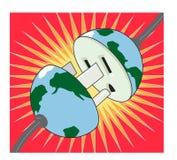 Electric earth Stock Photos