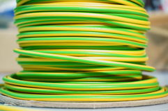 Electric earth cable A Stock Image
