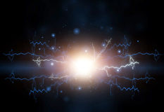 Electric effect Royalty Free Stock Images