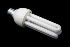 Electric-efficient bulb Stock Photos