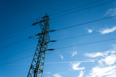 Electric energy Royalty Free Stock Photo