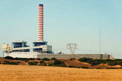 Electric energy power plant Royalty Free Stock Photo
