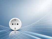Electric energy - socket, outlet Royalty Free Stock Photography