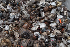 Electric engines recycling Stock Images